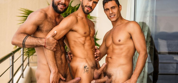 SIR PETER AND RAFAEL CARRERAS DOUBLE PENETRATE VALENTIN AMOUR